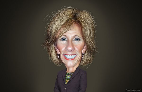 Betsy DeVos to Lead Christian Educators in 40-Day, 40-Night Death Valley Hike
