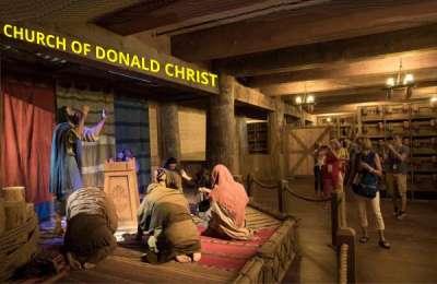 Pat Robertson, Donald the Christ