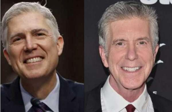 headlines today, Neil Gorsuch, Tom Bergeron