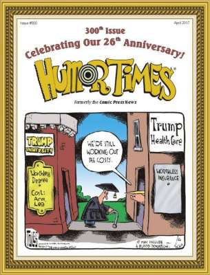 political satire Humor Times anniversary issue