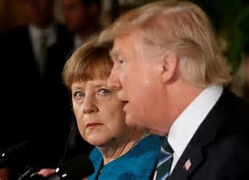 Trump glossary, Angela Merkel, Donald Trump