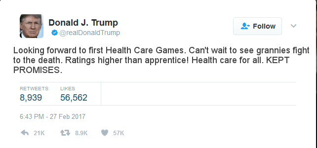 Trumpcare, health care