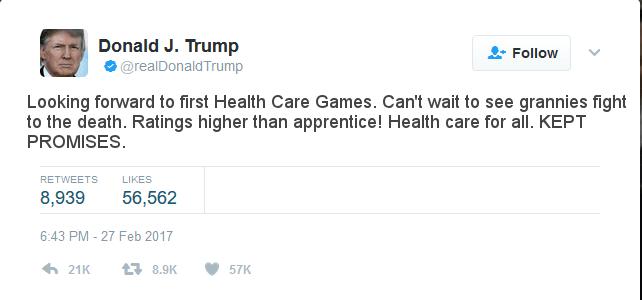 Trumpcare, health care