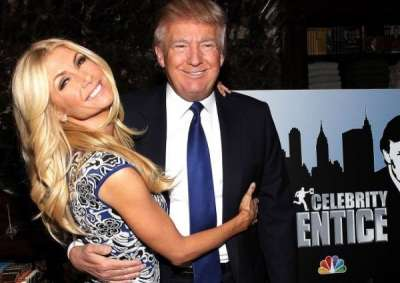Trump and Brande Roderick