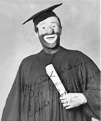 Sean Spicer clown college
