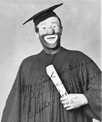 Sean Spicer clown college