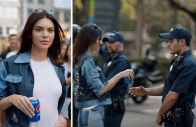 headlines today, kendall jenner pepsi