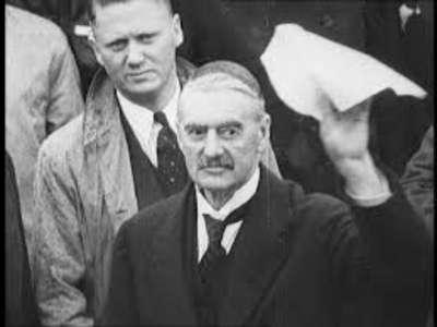 Neville Chamberlain like Andrew Jackson