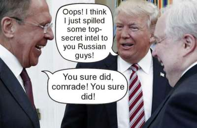 trump secrets russians
