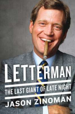 Jason Zinoman, David Letterman book