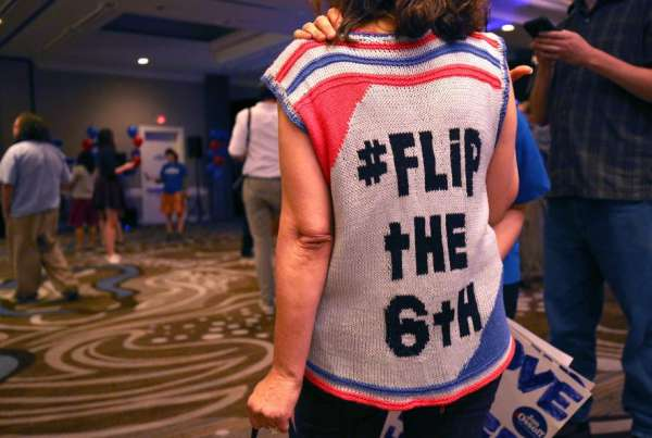 Ossoff Still Working at 'Flipping the Sixth,' but Now for Wendy's