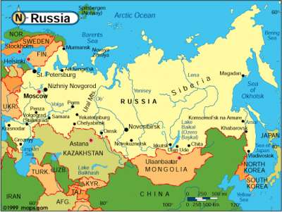 RussiaUS Adjacent A New Map Is Born Marilyn Sands Humor Times - Russia us map