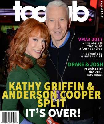 Headlines today, Anderson Cooper, Kathy Griffin