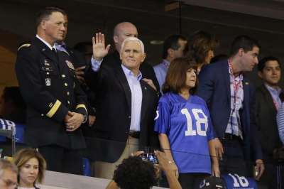 Mike Pence, NFL