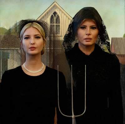 First Lady Melania & First Daughter Ivanka