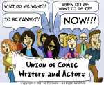 Comedy Union Defends the Whole Human Race Against Latest Insult to Mankind's Ego