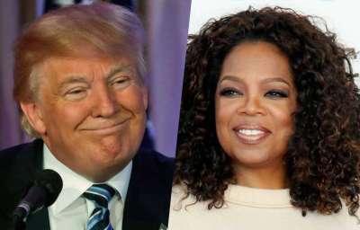 Trump tweeted against Oprah