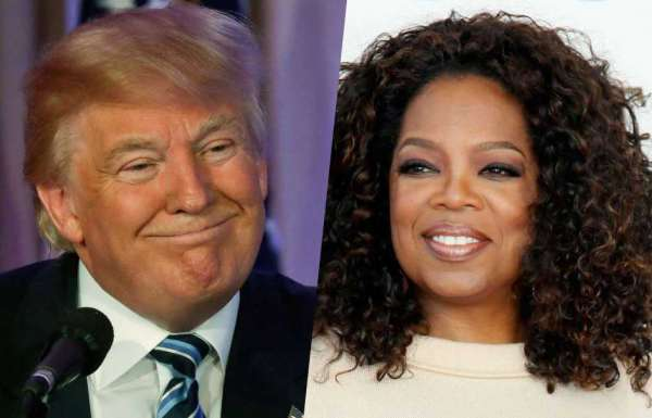 Trump tweeted against Oprah