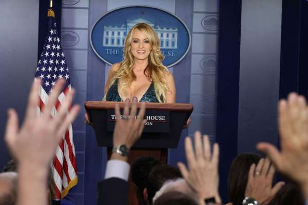 Stormy Daniels and President Trump Settle: She is to Replace Sanders