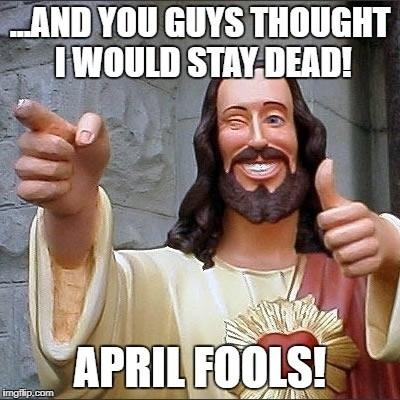 April Fools Easter