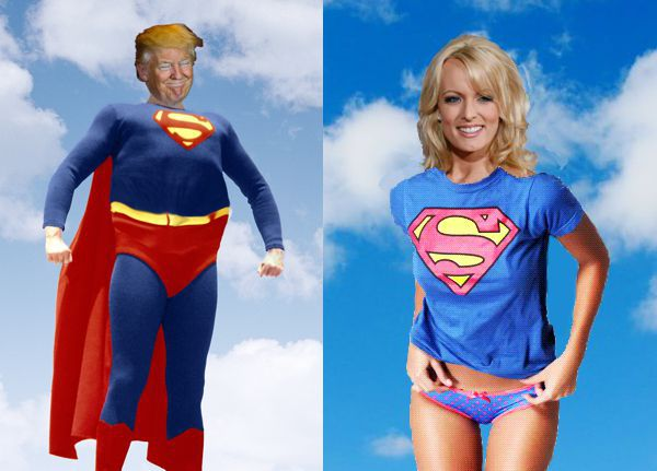 Rival Reality TV Shows, Super Trump, Super Stormy