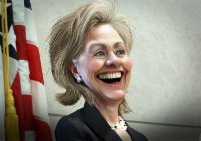 Hillary Clinton by DonkeyHotey
