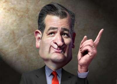 Texas Senator Ted Cruz by DonkeyHotey