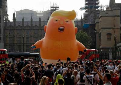 trump, so-called president balloon