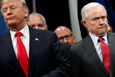Trump Blames Sessions