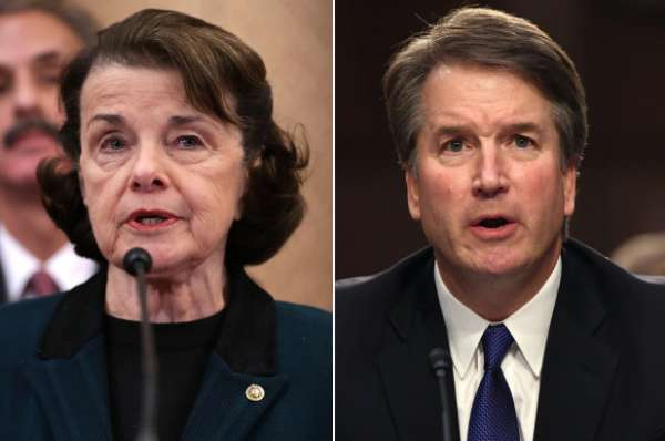 The Jerry Duncan Show interviews Justice Brett Kavanaugh and Senator Diane Feinstein