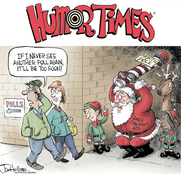 The New Issue of the Humor Times is Out! Subscriptions Make Great Gifts!
