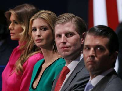 Trump Family Intervention