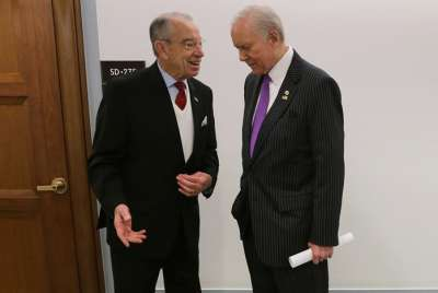 Senator Orrin Hatch and Senator Chuck Grassley