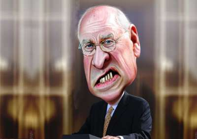 Dick Cheney by DonkeyHotey