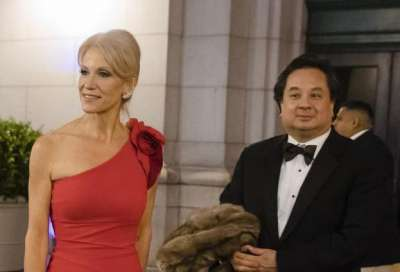 Kellyanne Conway and her husband George Conway