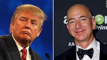 Trump, Bezos
