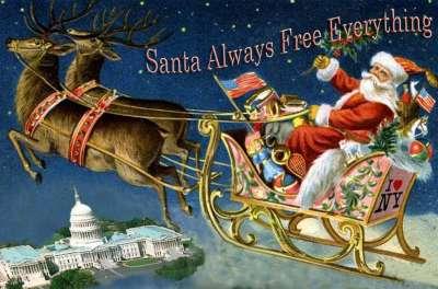 santa for congress