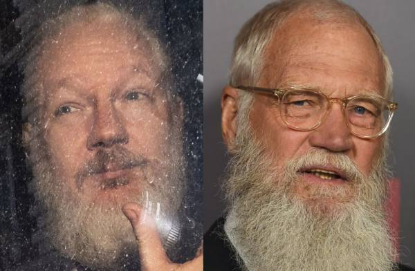 Ecuadorian Embassy, Assange, David Letterman
