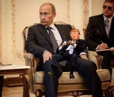 Spy Drones Trump Putin