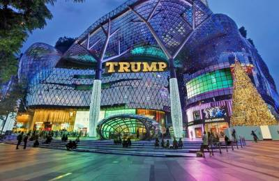 trump shopping plaza