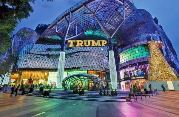 The New Trump Shopping Plaza