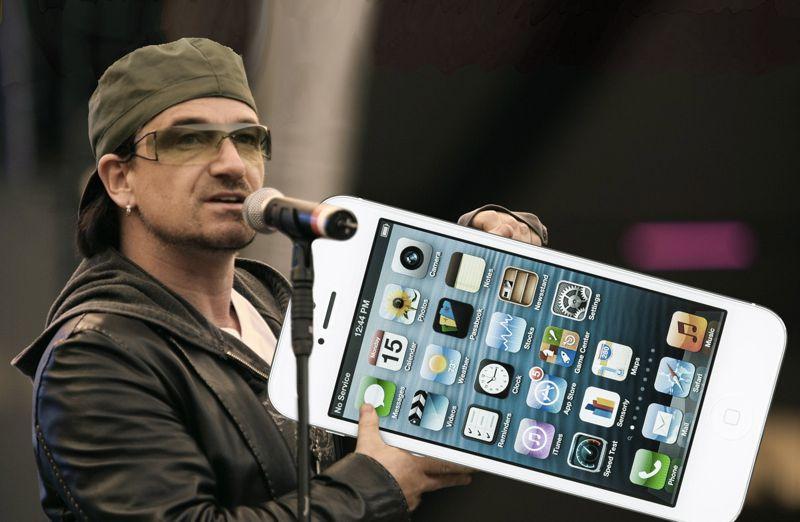 itunes Bono