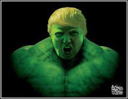 trump hulk Haikus