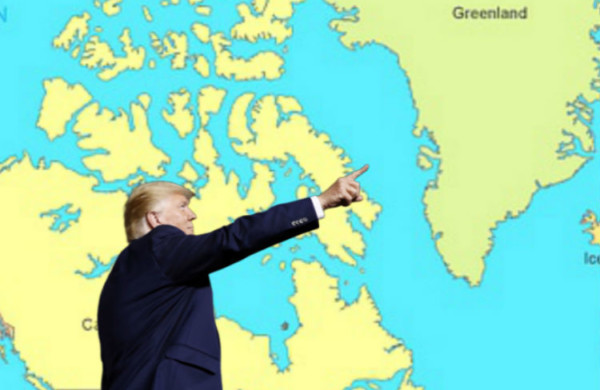 Donald Trump Buys Greenland So That He Can Be King of Something