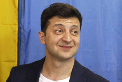 Volodymr Zelensky
