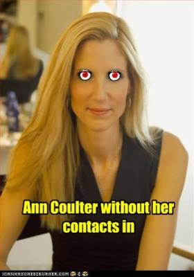 Ann Coulter, Vampire and the Vamp