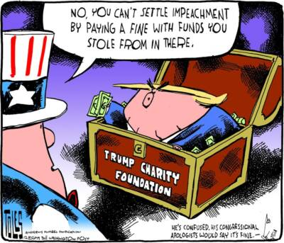 impeachment issue cartoon
