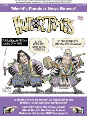 Humor Times Impeachment Issue cover