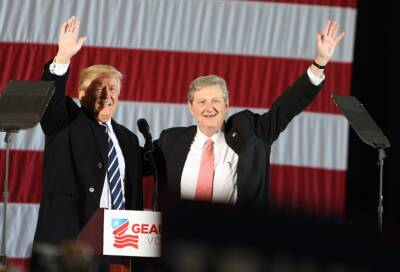 John Kennedy and Trump