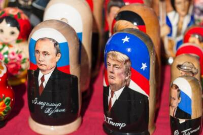 Manchurian Candidate. Putin Trump nesting dolls.